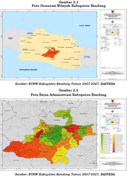 Aspek Geografi - Pemerintah Kabupaten Bandung